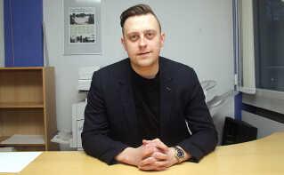 Michael Flyvholm er daglig leder af KIF Fodbold. Han har en fortid i en norsk divisionsklub, hvor han var i en lignende stilling. Foto: KIF Fodbold