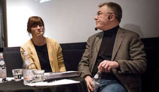 Christina Rosendahl (tv.) og Kim Pedersen er henholdsvis formand for Danske Filminstruktører og formand for Danske Biografer.
