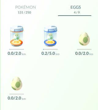 Æggene i Pokémon Go klækkes, når man har bevæget sig et vist antal kilometer. I æggene er en hemmelig Pokémon