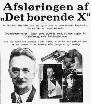 At det var en grønthandler, der stod bag pengeskabstyverierne, kom bag på mange. Politiken den 2. maj 1931.