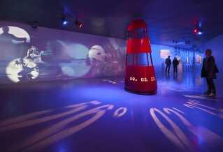 På Museet for Søfart i Helsingør sendes gæsterne ud i høj søgang.