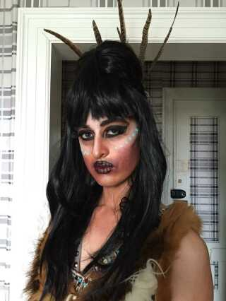 Et af 31-årige Anthony Holms mange drag queen kostumer, som han helst kalder for trash queen, fordi han ikke vil være så 'poleret', som han selv udtrykker det.