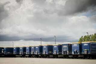 Transport- og logistikkoncernen DSV A/S har omkring 45.000 ansatte.