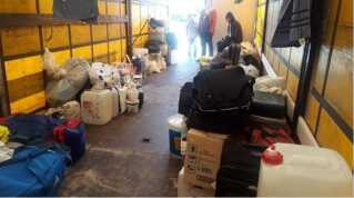 Det er filippinere og srilankanere, der har boet i containerlejren i Padborg.
