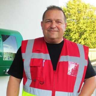 Karsten Petersen fra Vojens er en af Region Syddanmarks frivillige førstehjælpere. Han var glad for at have været på førstehjælpskursus, da han blev kaldt ud til et hjertestop.