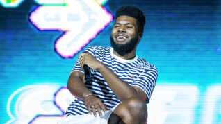 Khalid slog igennem lydmuren som teenager med albummet 'American Teen'. Her ses han under en koncert i sommer.
