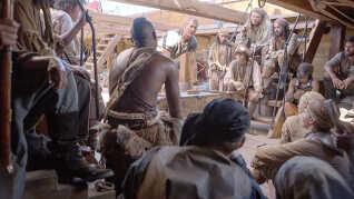 Sorte og europæere kæmpede side om side på piratskibene.
