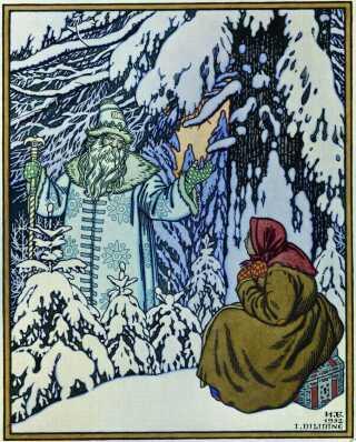 Bedstefar Frost illustreret i 1932.