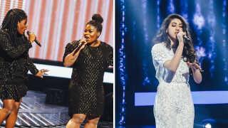 Da duoen EMBRACE (til venstre) i april vandt en overbevisende sejr over Reem (til højre) i X Factor, klikkede netbrugerne i stor stil på historien.