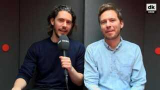 Frederik Dirks Gottlieb (t.v.) og Kasper Lundberg (t.h.) fra P3's 'Den sorte boks' har aldrig rigtig set Matador, selvom de anmelder tv-serier.