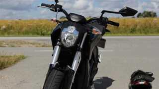 Elmotorcyklen Zero S er den første af sin slags til salg i Danmark.