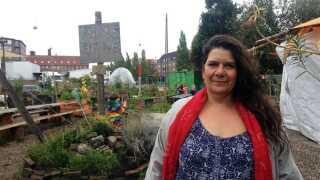 Nadia Raphael Rathje er leder af Den Grønne Friskole. Hun håber, skolen ender med at blive en bevægelse.