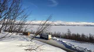 Ifølge Terese Nielsen er naturoplevelserne noget af det, der gør det værd at være langt væk, som her i Björkliden i Sverige.