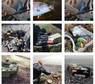 #Plasticinthebasket begyndte med et enkelt skralde-billede fra Bornholm. Nu har ideen og hashtagget bredt sig til lystfiskerkredse i flere lande.