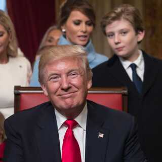 Trump på Det Hvide Hus' hjemmeside: Her er min politik | Udland | DR