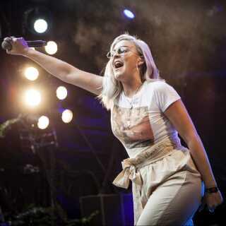 Anne-Marie på sidste års Skanderborg Festival.
