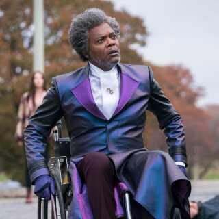 70-årige Samuel L. Jackson har medvirket i mere end 100 film - heriblandt 'Jurassic Park', 'Pulp Fiction' og 'Django Unchained'. I 'Glass' spiller han rollen som Elijah Price.