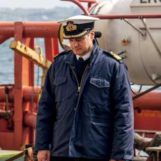 Den britiske skuespiller Colin Firth spiller en af hovedrollerne i 'Kursk'. Han modtog i 2011 en Oscar-statuette for sin rolle i 'Kongens store tale'.