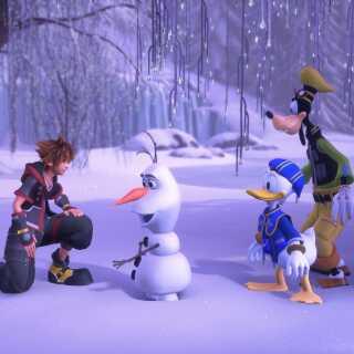 Rollespilsfiguren Sora slår pjalterne sammen med Fedtmule og Anders And i de populære 'Kingdom Hearts'-spil. Seriens tredje spil har netop solgt  fem millioner eksemplarer.