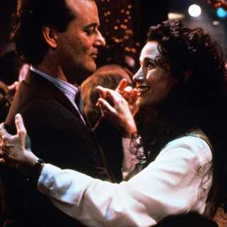 Bill Murray og Andie McDowell i 'Groundhog Day'.