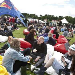 Tangkrogen i Århus dannede ramme for den første Northside Festival i 2010.