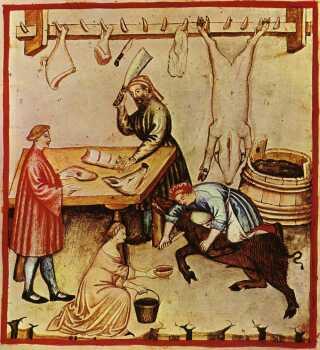 Grise blev slagtet ved vintertid. Derfor var det naturligt, at man spiste flæskesteg til jul, når fastetiden var ovre.