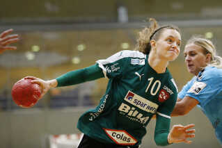 Kristina Jørgensen har haft en god halvsæson i Viborg HK.