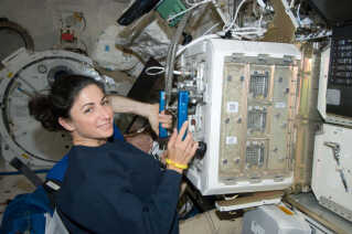 Muse-laboratoriet ombord på ISS bliver brugt til videnskabelige forsøg. Blandt andet til at gøre forkerne klogere på sygdomme som muskelsvind.
