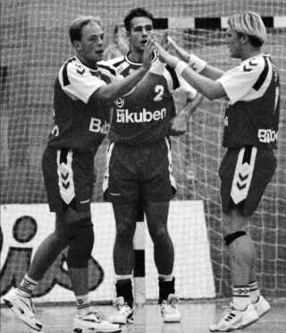 Christian Hjermind, Morten Bjerre og Nikolaj Jacobsen.