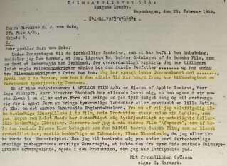 """Oversættelse af Karmarks """"stikkerbrev"""" udarbejdet af modstandsgruppen 1944."""