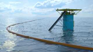 Ocean Cleanup Array skal rense oceanerne for plastikaffald