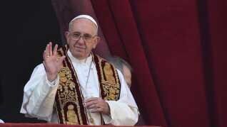 Pave Frans meldte sig ind i klimadebatten i 2015.