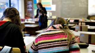Danske elevers gennemsnit i er i år målt til 511 point, hvilket er over OECD-gennemsnittet.