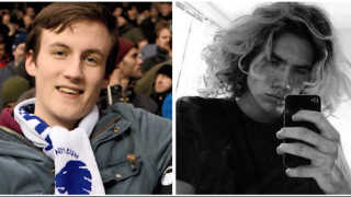 17-årige Hans Petersen (tv) dør 1. januar i år af smitsom meningitis. 30 dage senere dør Christoffer Licht Jensen (th) af samme sygdom på sin 18 års fødselsdag.