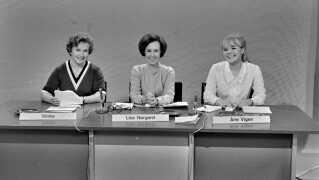 I 1968 var Lise Nørgaard fx med på i underholdningsprogrammet Fup eller Fakta sammen med to andre journalister: Ninka, tv. og Ane Vigen.