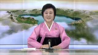 - Prøvesprægningen af brintbomben, som var bestilt af den store leder Kim Jong Un, er en perfekt succes og et betydningsfuldt skridt hen mod at fuldende Nordkoreas kernevåbenprogram, lød det fra nyhedsoplæseren, der annoncerede atomprøvesprængningen sidste weekend.