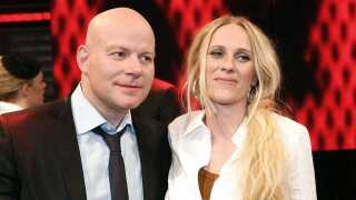 Thomas Blachman sammen med sin finalist i den allerførste sæson, Heidi. Blachman producerede efter X Factor Heidis debutalbum 'Audio Ballerina'.