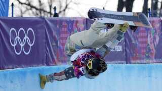Shaun White er en af de største stjerner ved vinter-OL. Vandt guld i halfpipe i 2006 og 2010.