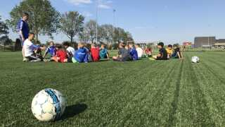 Der er 30 spillere på det lokale U11-drengehold i Nyborg GIF.