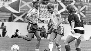Morten Olsen var anfører for det stærke VM-hold i 1986.