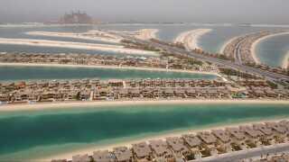 Der er luksus for fuld udblæsning på den kunstige rigmands-ø Palm Jameirah i Dubai, hvor Sanjay Shah ifølge et læk har ejendomme, der dækket 70.000 kvadratmeter.