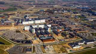 Byggeriet i Skejby er Danmarks største hospitalsbyggeri. Det er både nybyggeri og ombygning af det eksisterende hospital, og det færdige resultat vil være på størrelse med Ribe. Byggeriet skal rumme hele Aarhus Universitetshospital, som før lå spredt i Aarhus.