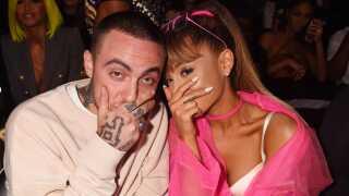 Mac Miller og popsangerinden Ariana Grande dannede i en periode par.