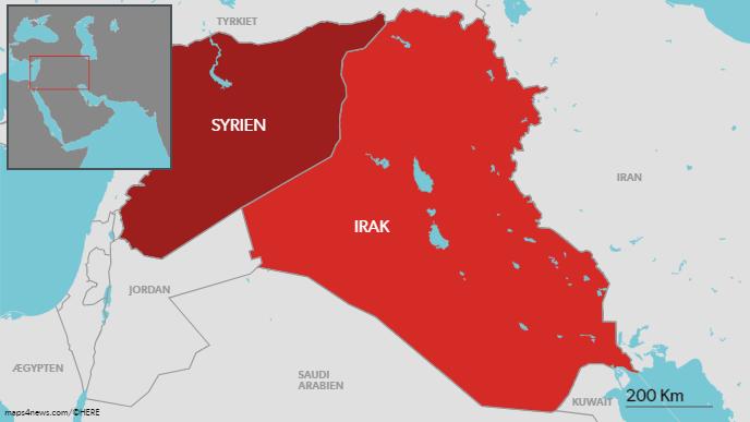 De 355 millioner kroner skal gå til både Syrien og Irak.
