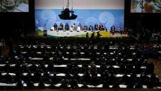 (Arkiv) FN's klimakonference står på i to uger, hvor der foregår intense forhandlinger. REUTERS/Wolfgang Rattay