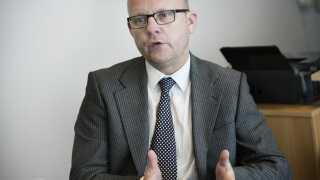 Administrerende direktør i HB Køge Per Rud er glad for ansættelsen af sin nye målmandstræner.