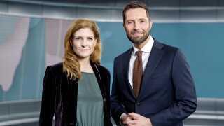 Nina Munch-Perrin danner fremover parløb med Kåre Quist på de sene TV-aviser, hvor de skiftes til at være værter.