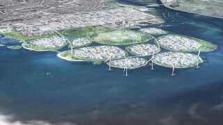 Sådan ser planen for det nye område ved Avedøre Holme nær København, der skal hedde Holmene. (Foto: URBAN POWER for Hvidovre Kommune)