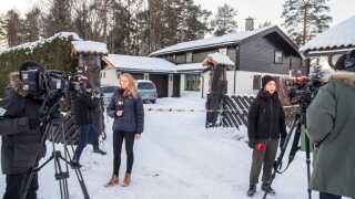 Anne-Elisabeth Falkevik Hagen blev bortført fra dette hus nær Oslo 31. oktober sidste år.