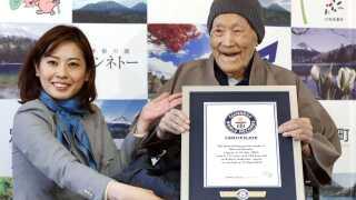 Guinness Rekordbog bekræftede sidste år, at Nonaka var verdens ældste nulevende mand.